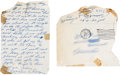 Boxing Collectibles:Autographs, October 25, 1960 Cassius Clay Handwritten Letter....