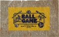 "Baseball Cards:Other, Circa 1920 Walter H. Johnson ""Ball Game"" 5-Cent Wrapper. ..."
