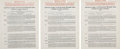 Autographs:Others, 1942 Joe DiMaggio Signed New York Yankees Contract....