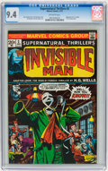 Bronze Age (1970-1979):Horror, Supernatural Thrillers #2 (Marvel, 1973) CGC NM 9.4 Off-whitepages....