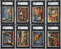 Non-Sport Cards:Sets, 1962 Topps Mars Attacks Complete Set (55). ...