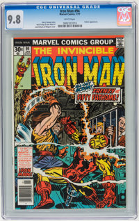 Iron Man #94 (Marvel, 1977) CGC NM/MT 9.8 White pages