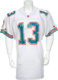 Football Collectibles:Uniforms, 1993 Dan Marino Game Worn Jersey....
