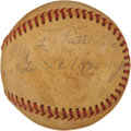 Autographs:Baseballs, Circa 1940 Roy L. Patterson Single Signed Baseball....
