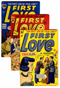 Golden Age (1938-1955):Romance, First Love Illustrated File Copy - Short Box Group (Harvey, 1949-63) Condition: Average VF+....