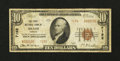 National Bank Notes:Kansas, Meade, KS - $10 1929 Ty. 2 The First NB Ch. # 7192. ...