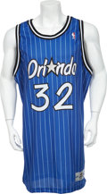 Basketball Collectibles:Uniforms, 1994-95 Shaquille O'Neal Game Worn Jersey....