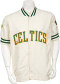 "Basketball Collectibles:Uniforms, 1978-80 Nate ""Tiny"" Archibald Game Worn Warm-Up Jacket...."