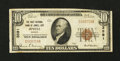 National Bank Notes:Kansas, Jewell City, KS - $10 1929 Ty. 1 The First NB Ch. # 3591. ...