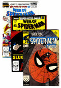 Modern Age (1980-Present):Superhero, The Amazing Spider-Man/Web of Spider-Man Box Lot (Marvel, 1989-98)Condition: Average VF....