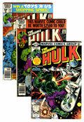 Modern Age (1980-Present):Superhero, The Incredible Hulk Box Lot (Marvel, 1980-99) Condition: AverageVF....