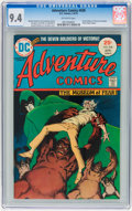 Bronze Age (1970-1979):Horror, Adventure Comics #438 (DC, 1975) CGC NM 9.4 Off-white pages....