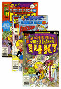 Modern Age (1980-Present):Humor, Richie Rich-Related File Copies Box Lot (Harvey, 1987-90)Condition: Average VF....
