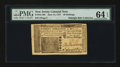 Colonial Notes:New Jersey, New Jersey June 14, 1757 30s PMG Choice Uncirculated 64 EPQ....