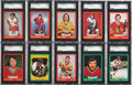 Hockey Cards:Lots, 1973-74 O-Pee-Chee Hockey SGC 96 Mint 9 and Gem MT 10 collection(25 Different)....