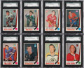 Hockey Cards:Lots, 1969-70 O-Pee-Chee Hockey SGC 96 Mint 9 or Gem MT 10 Collection(15)....