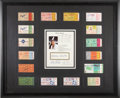 Baseball Collectibles:Tickets, 1952-64 Mickey Mantle World Series Home Run Ticket StubsDisplay....