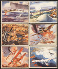 "Non-Sport Cards:Sets, Scarce 1939 V276 O-Pee-Chee ""Fighting Forces"" Near Set (46/48)...."