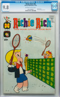Bronze Age (1970-1979):Cartoon Character, Richie Rich #98 File Copy (Harvey, 1970) CGC NM/MT 9.8 Off-white to white pages....