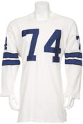 Football Collectibles:Uniforms, Early 1970's Bob Lilly Game Worn Dallas Cowboys Jersey....
