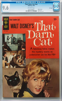 Movie Comics - That Darn Cat #nn File Copy (Gold Key, 1966) CGC NM+ 9.6 Off-white pages