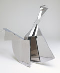 Fine Art - Sculpture, American:Modern (1900 - 1949), ERNEST TINO TROVA (American, b. 1927). Profile Canto VII,1972. Stainless steel. 36-1/2 x 38 x 28-1/2 inches (92.7 x 96....