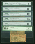 Colonial Notes:New Jersey, New Jersey April 12, 1760 Assortment.... (Total: 6 notes)