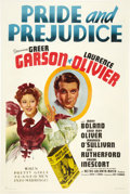 "Movie Posters:Drama, Pride and Prejudice (MGM, 1939). One Sheet (27"" X 41"") Style D....."
