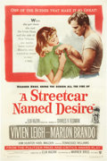 "Movie Posters:Drama, A Streetcar Named Desire (Warner Brothers, 1951). One Sheet (27"" X 41"").. ..."