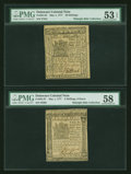 Colonial Notes:Delaware, Two Full Sized Delaware May 1, 1777 Notes.... (Total: 2 notes)