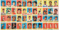 Baseball Cards:Lots, 1958 Topps Baseball 11-Card Uncut Strips (4). ...
