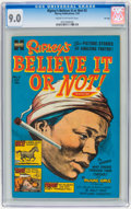 Golden Age (1938-1955):Non-Fiction, Ripley's Believe It or Not! #3 File Copy (Harvey, 1954) CGC VF/NM9.0 Cream to off-white pages....
