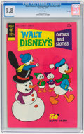 Bronze Age (1970-1979):Cartoon Character, Walt Disney's Comics and Stories #401 File Copy (Gold Key, 1974)CGC NM/MT 9.8 White pages....