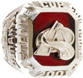 Hockey Collectibles:Others, 2001 Colorado Avalanche Stanley Cup Championship Ring....