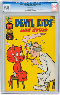 Devil Kids Starring Hot Stuff #24 File Copy (Harvey, 1966) CGC NM/MT 9.8 Off-white pages