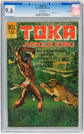 Silver Age (1956-1969):Adventure, Toka #1 File Copy (Dell, 1964) CGC NM+ 9.6 White pages....