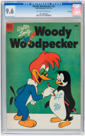 Golden Age (1938-1955):Cartoon Character, Woody Woodpecker #22 File Copy (Dell, 1954) CGC NM+ 9.6 Off-whiteto white pages....