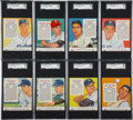 Baseball Cards:Lots, 1955 Red Man Tobacco SGC-Graded Collection (32)....