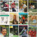 Golf Collectibles:Autographs, 1955-2000 Golf Legends Signed Sports Illustrated Magazines Lot of128....
