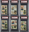 "Non-Sport Cards:Sets, 1889 N114 Duke ""Histories of Generals"" Partial Set (22/50) PlusGrant Color Variation. ..."