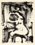Fine Art - Work on Paper:Print, EVA HESSE (American, 1936-1970). Untitled (Nude), 1954.Lithograph on paper. 15-1/2 x 12 inches (39.4 x 30.5 cm). Ed. 2/...