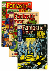 Fantastic Four #87-96 Group (Marvel, 1969-70) Condition: Average FN+.... (Total: 10 Comic Books)