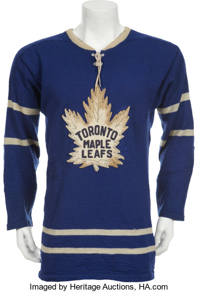 126d446263a 1957-58 Bob Pulford Game Worn Jersey.... Hockey Collectibles | Lot ...