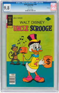 Uncle Scrooge #144 File Copy (Gold Key, 1977) CGC NM/MT 9.8 White pages