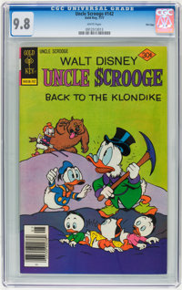 Uncle Scrooge #142 File Copy (Gold Key, 1977) CGC NM/MT 9.8 White pages