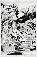 Original Comic Art:Splash Pages, Aaron Lopresti and Tom Simmons Superboy #66 Splash page 4Original Art (DC, 1999)....