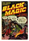 Golden Age (1938-1955):Horror, Black Magic #1 (Prize, 1950) Condition: GD+....