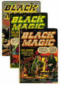Golden Age (1938-1955):Horror, Black Magic Group (Prize, 1951-52) Condition: Average GD+....(Total: 9 Comic Books)