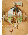 "Non-Sport Cards:Sets, 1887 A2 Allen & Ginter ""Celebrated American Indian Chiefs""Album...."