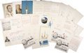 Explorers:Space Exploration, Soviet and Russian Space Award Citations: Lot of Thirty.... (Total:30 Items)